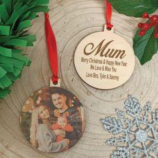 Christmas Photo Ornament 2020