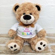 Sister Teddy Bear Brown Plush - Malcolm