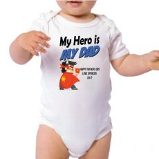 My Dad - My Hero Baby Bodysuit