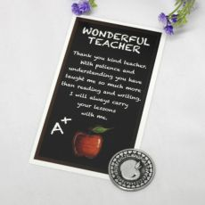 Teacher Pocket Token and Card