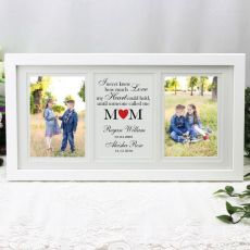 Mum Gallery Photo Frame 4x6 Typography Print White