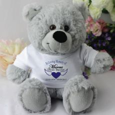 In Loving Memory Memorial Teddy Bear - Grey