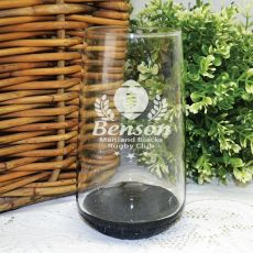Football Coach Engraved Personalised Glass Tumbler