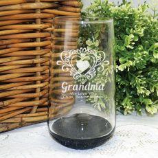 Grandma Engraved Personalised Glass Tumbler