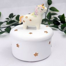 Unicorn Ceramic Trinket bBox
