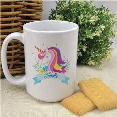 Personalised Coffee Mug - Unicorn