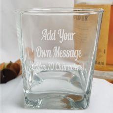 Custom Engraved Scotch Glass - Your Design