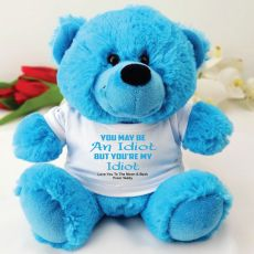 You're A .... Valentines Bear - Blue
