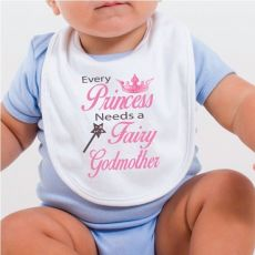 Fairy Godmother Baby Bib