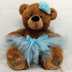 16th Birthday Ballerina Teddy Bear 40cm Plush Brown