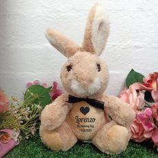 Naming Day Bunny Rabbit Plush - Byron