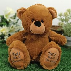 Page Boy Teddy Bear 30cm Brown