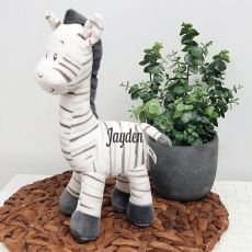 Personalised Safari Zebra 30cm