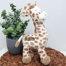 Personalised Safari Giraffe 25cm