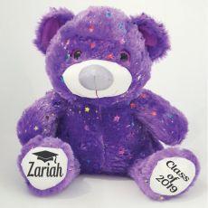 Graduation Bear Teddy Bear 40cm Hollywood - Purple