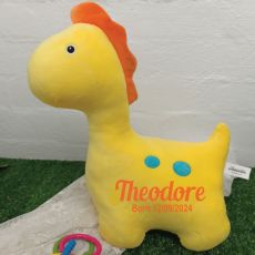 Koo Dinosaur Plus Toy Yellow
