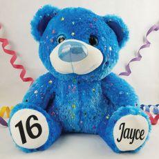 16th Birthday Teddy Bear 40cm Hollywood Blue