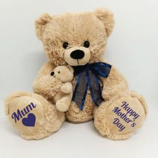 Mothers day Teddy Bear Plush - Blue
