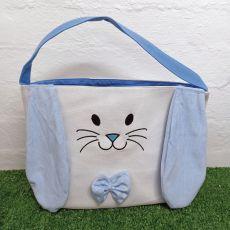 Easter Basket Tote Bag - Blue