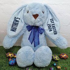 1st Easter Rabbit Bunny Plush - 40cm Blue