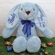 Easter Rabbit Bunny Plush - 40cm Blue
