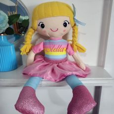 Personalised Rag Doll - Sunny