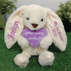 Personalised 1st Easter Bunny Plush Cinnamon