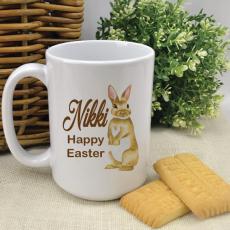 Personalised Easter Coffee Mug - Bunny