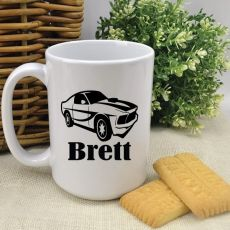 Personalised Coffee Mug - Car