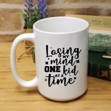 Personalised Novelty Family Coffee Mug - Losing My Mind