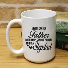 StepDad Personalised Coffee Mug 15oz