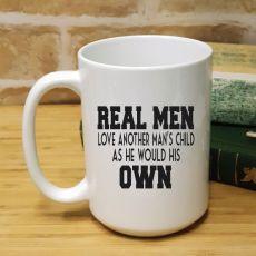 StepDad Personalised Coffee Mug 15oz - Real Men