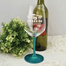Brother  Engraved Personalised Wine Glass 450ml