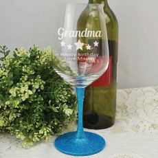 Grandma Engraved Personalised Wine Glass 450ml