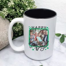 Fathers Day Personalised Photo Coffee Mug with Message