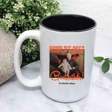 Worlds Best Godfather Photo Coffee Mug with Message