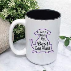 Dog Mum Mothers Day Coffee Mug with Message
