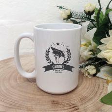 Graduation Coffee Mug 15oz - Mortar Wreath