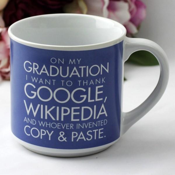 Image of Graduation Google Coffee Mug{empty_space}