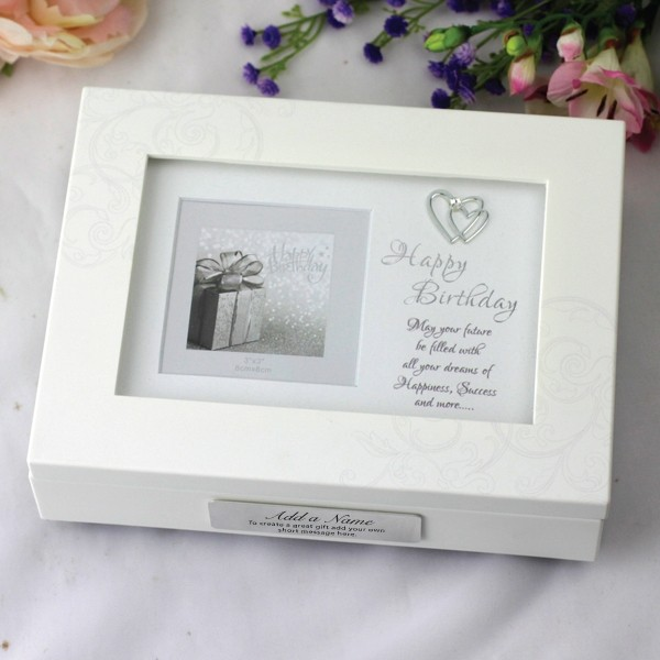 Image of 80th Birthday Music Box Gift{empty_space}