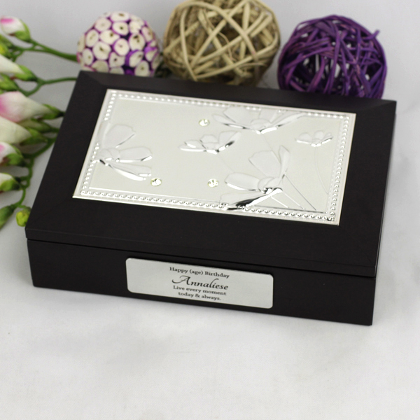 Image of Personalised 30th Birthday Jewel Box Gift{empty_space}