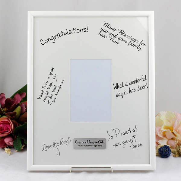 Image of 40th Birthday Signature Frame - Personalised Gift{empty_space}