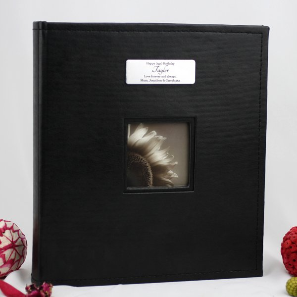 Image of Personalised 40th Birthday 5x7 Photo Album Gift{empty_space}