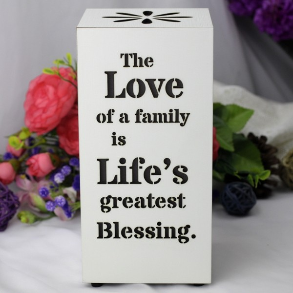 Image of Starlight Led Night Light - Family Blessing{empty_space}