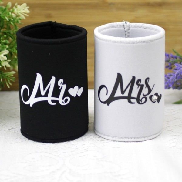Image of Mr & Mrs Stubby Holder Gift Set{empty_space}